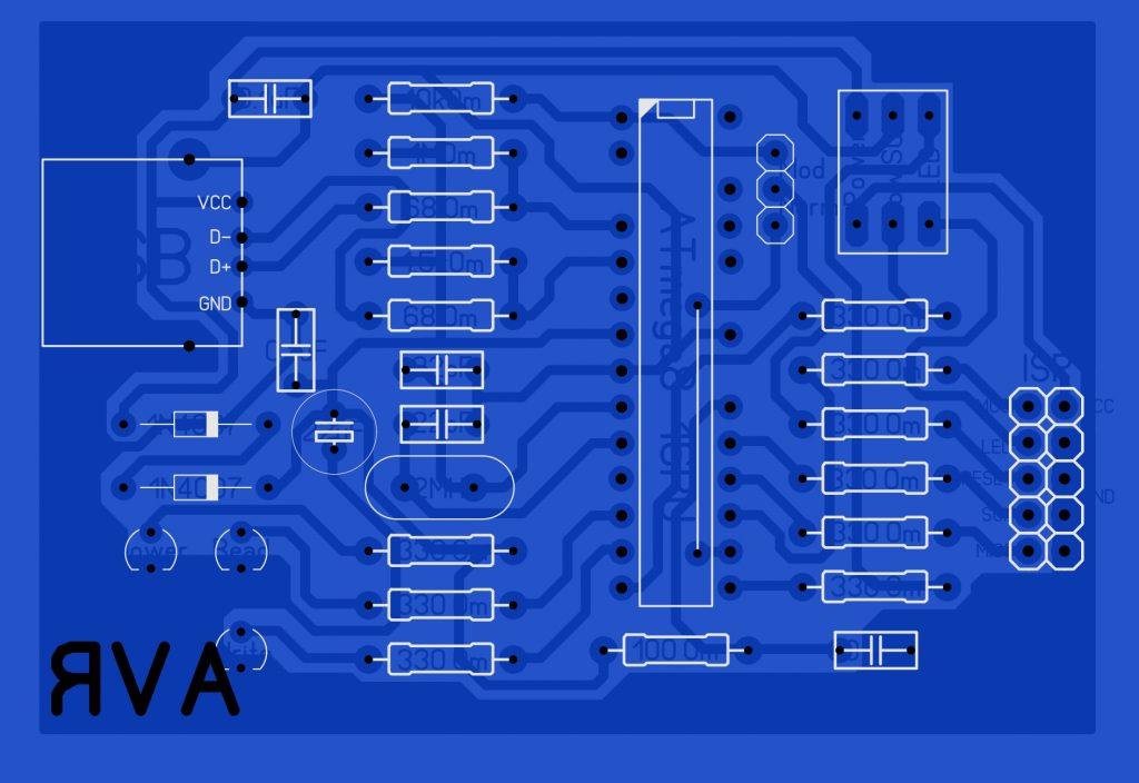 AVR-910 USB programmer